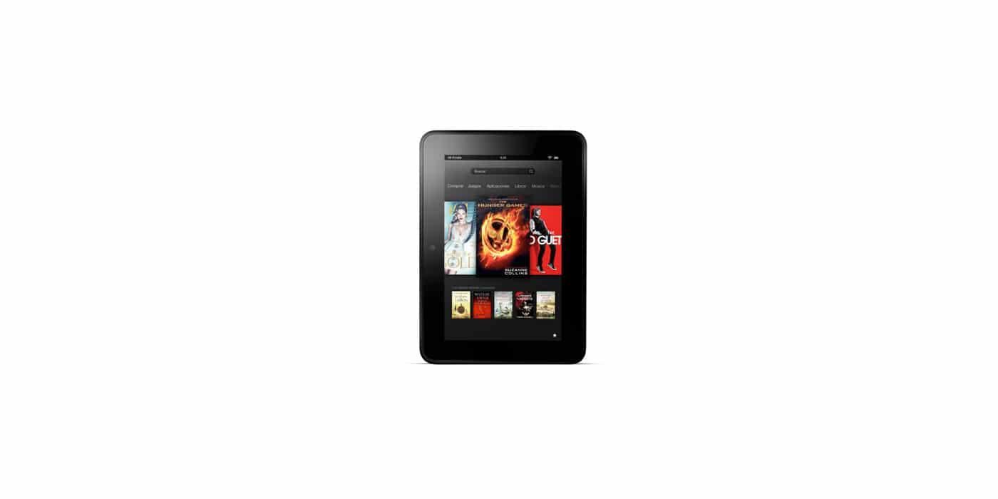 Pantalla Kindle Fire HD
