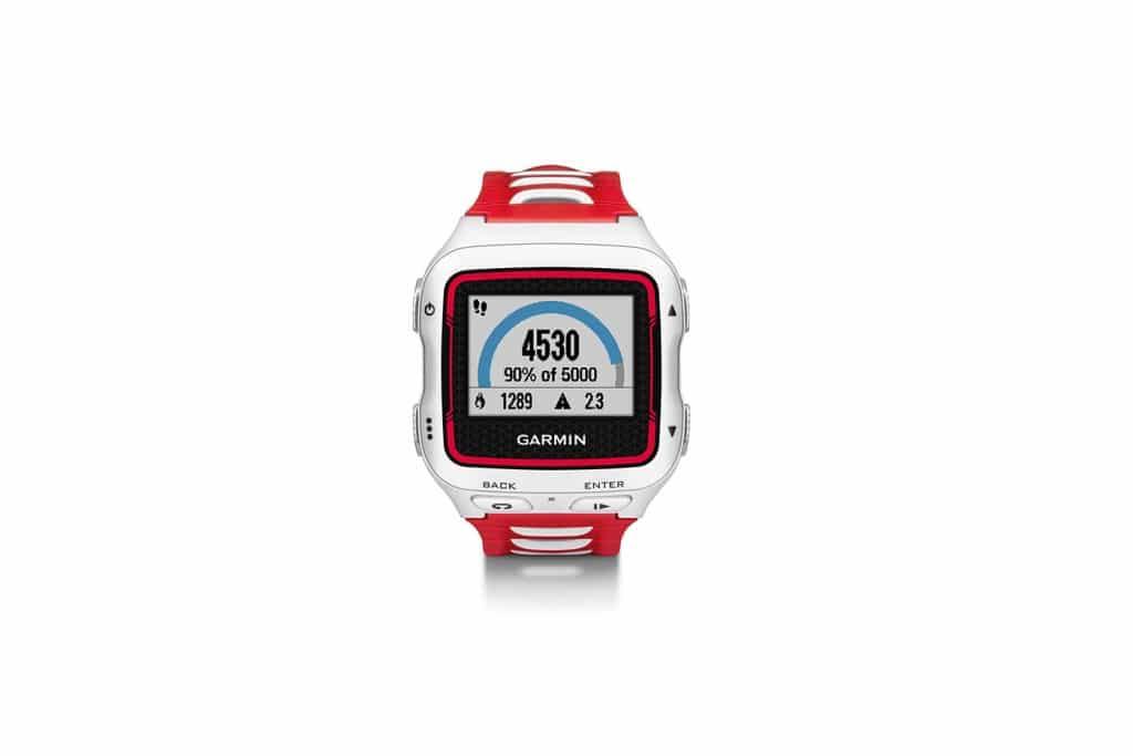 Garmin Forerunner 920XT - Frontal Rojo y Blanco