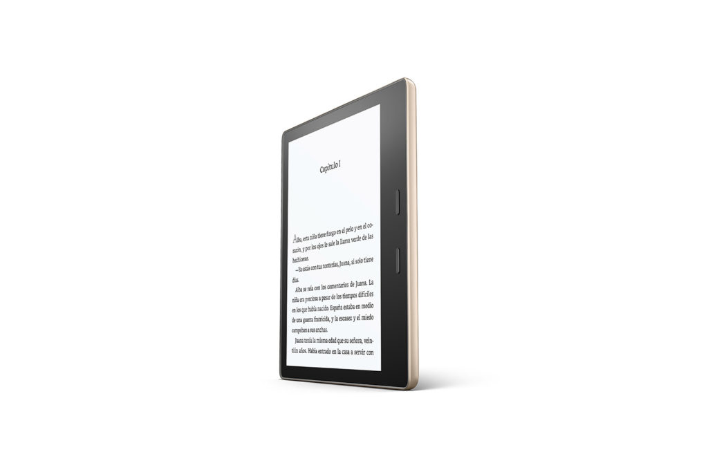 Kindle Oasis Pantalla