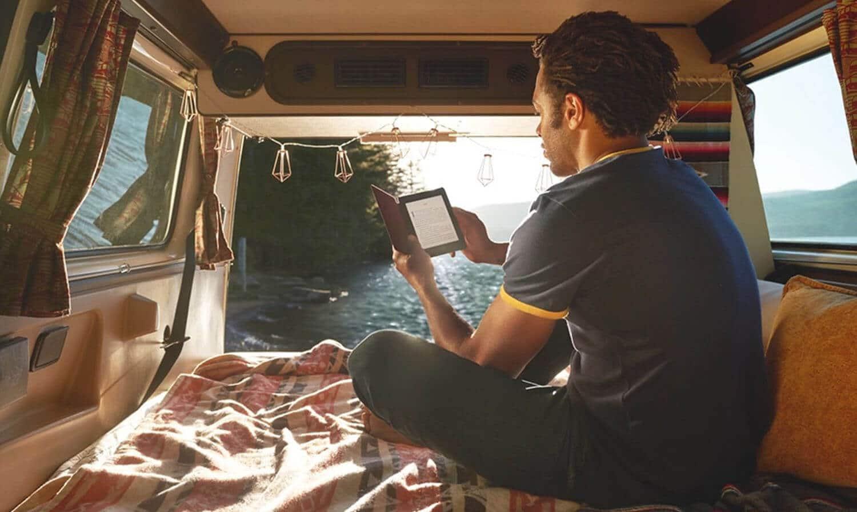 Usando el Kindle Paperwhite 2019 afuera